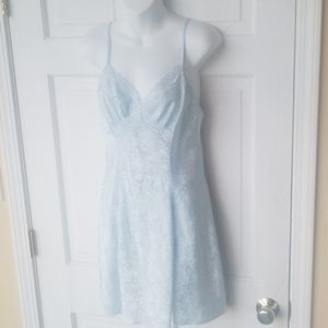 Adonna Baby Blue Babydoll Nightie